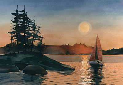 Landscape Art Catalog / AROUND THE POINT By Rich Thistle